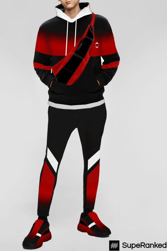 SupeRanked Athleisure 002 AC Milan - Front