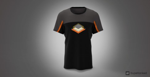 SupeRanked 005 T-Shirt AMD - Front
