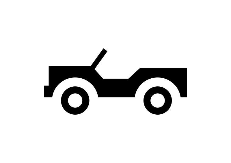 simple jeep icon