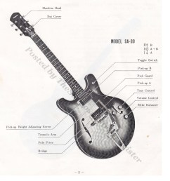 semi hollow body guitar wiring diagrams images gallery [ 1601 x 1682 Pixel ]