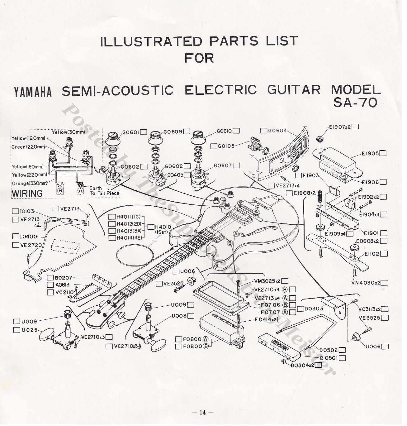 hight resolution of yamaha guitar wiring diagram ndash readingrat net