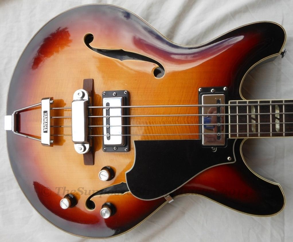 hight resolution of yamaha sa 70 full hollow body bass guitar
