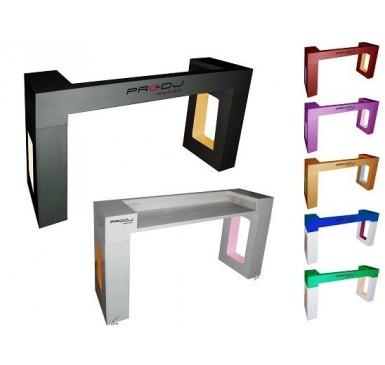 Mueble cabina  Iluminacin LED RGB