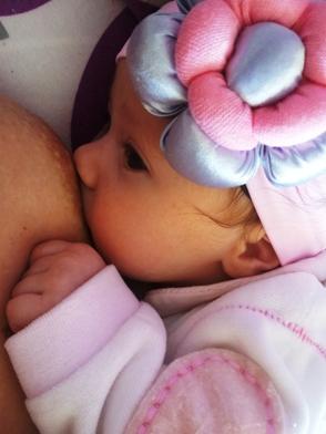 dojena beba dobija dovoljno