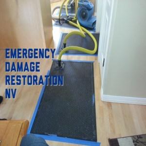 Emergency damage restoration NV