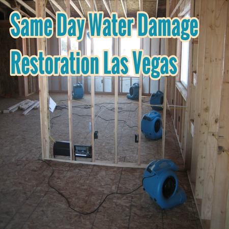 Same Day Water Damage Restoration Las Vegas