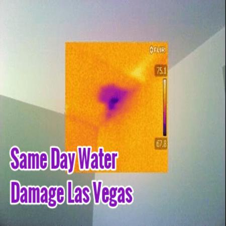 Same Day Water Damage Las Vegas