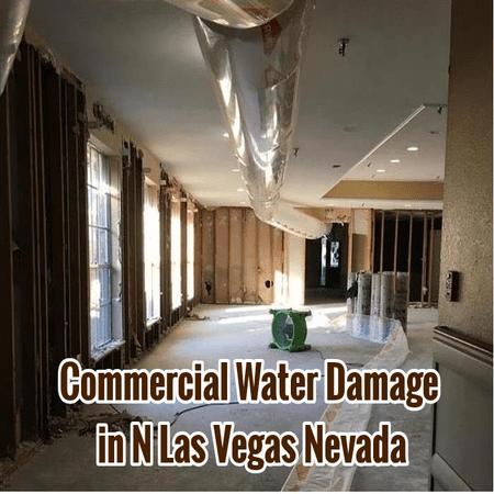 Commercial Water Damage in N Las Vegas Nevada