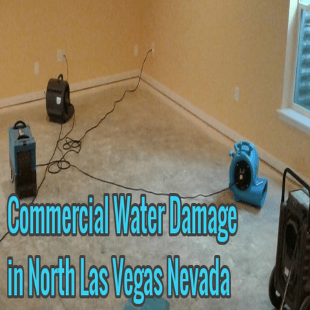 Commercial Water Damage in North Las Vegas Nevada