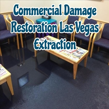 Commercial Damage Restoration Las Vegas Extraction