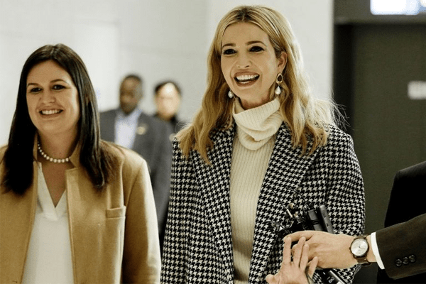 Ivanka Trump in S. Korea representing Winter Olympics | Backlash and Raising Questions