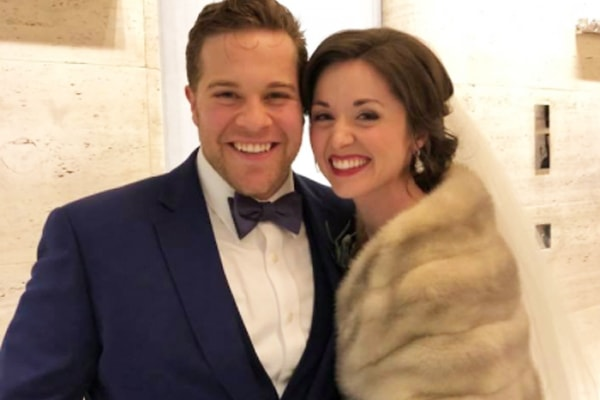 Les Miserables J. Michael Finley's Wife is Stunning. Wedding Photos Proves It