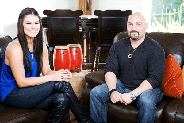 Michelle Gracie with her husband Jay Glazer