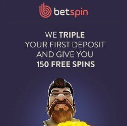 betspin 150 free pokie spins