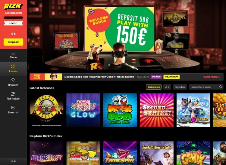 review Rizk casino