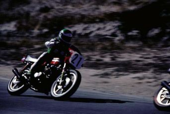 Eddie Lawson in 1981 at the school as guest Instructor.