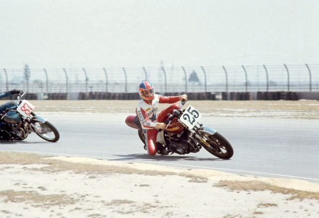 Racing at Ontario Raceway 1976