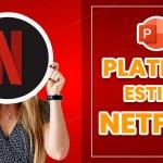 Platilla de Power Point estilo Netflix Descargala Gratis