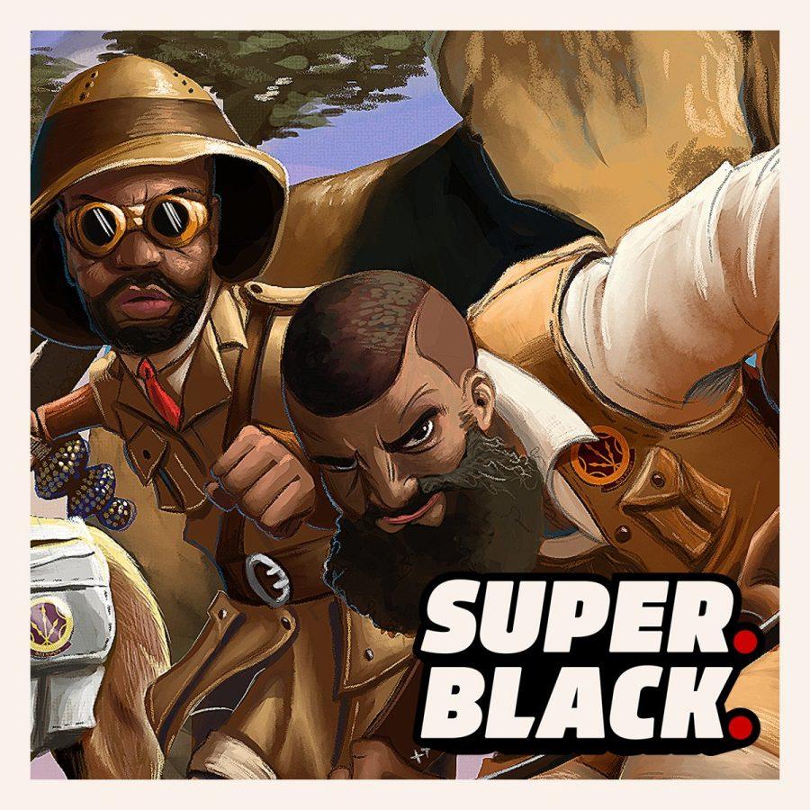 The Plainsmen - Super. Black,