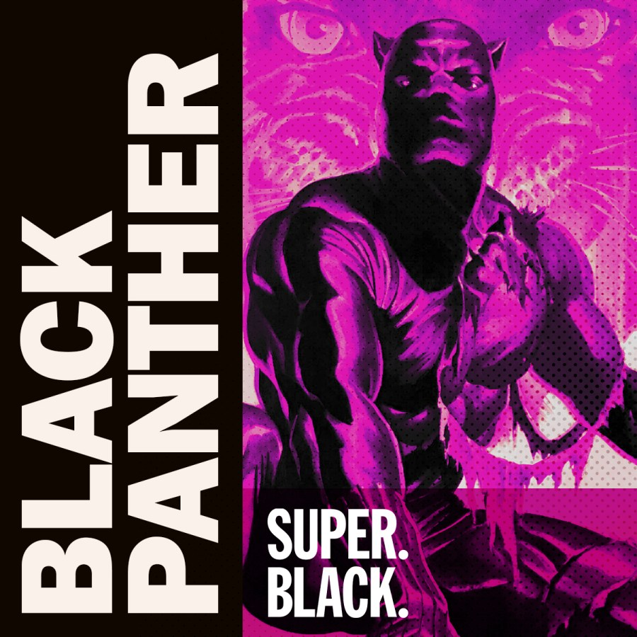 Black Panther Episode -Super. Black. Art by Alex Ross