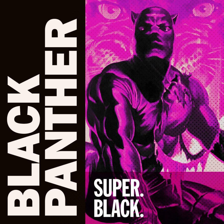 Black Panther Episode -Super. Black. Art by Alex Ross