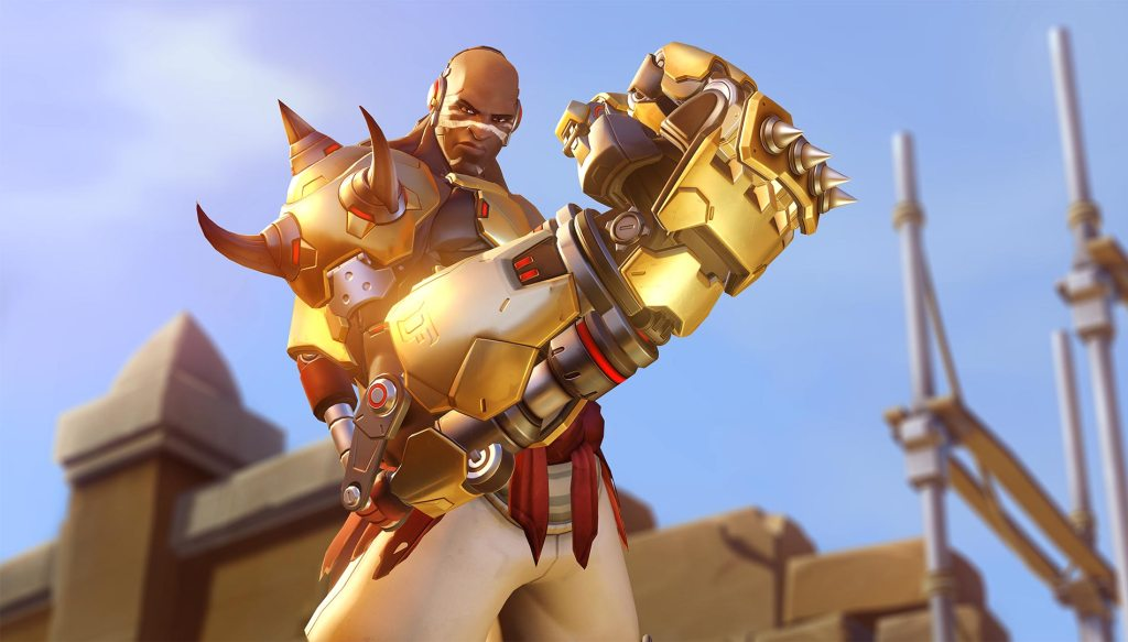 Black Characters With Metal Arms - Doomfist