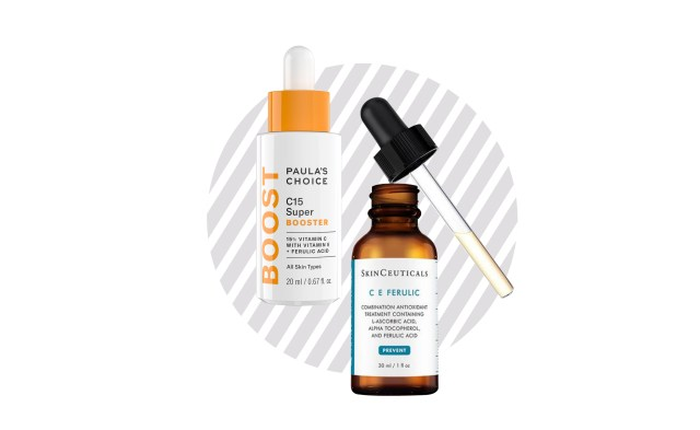 The third skincare step for the day is treatment, and we recommend the vitamin C serum. Superb;y picks: Skinceuticals C E Ferulic, and Paula's Choice Resist C15 Super Booster