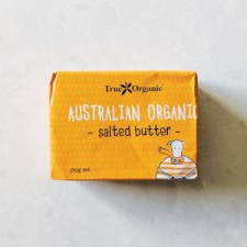 True Organic Australian Origin Salted Butter