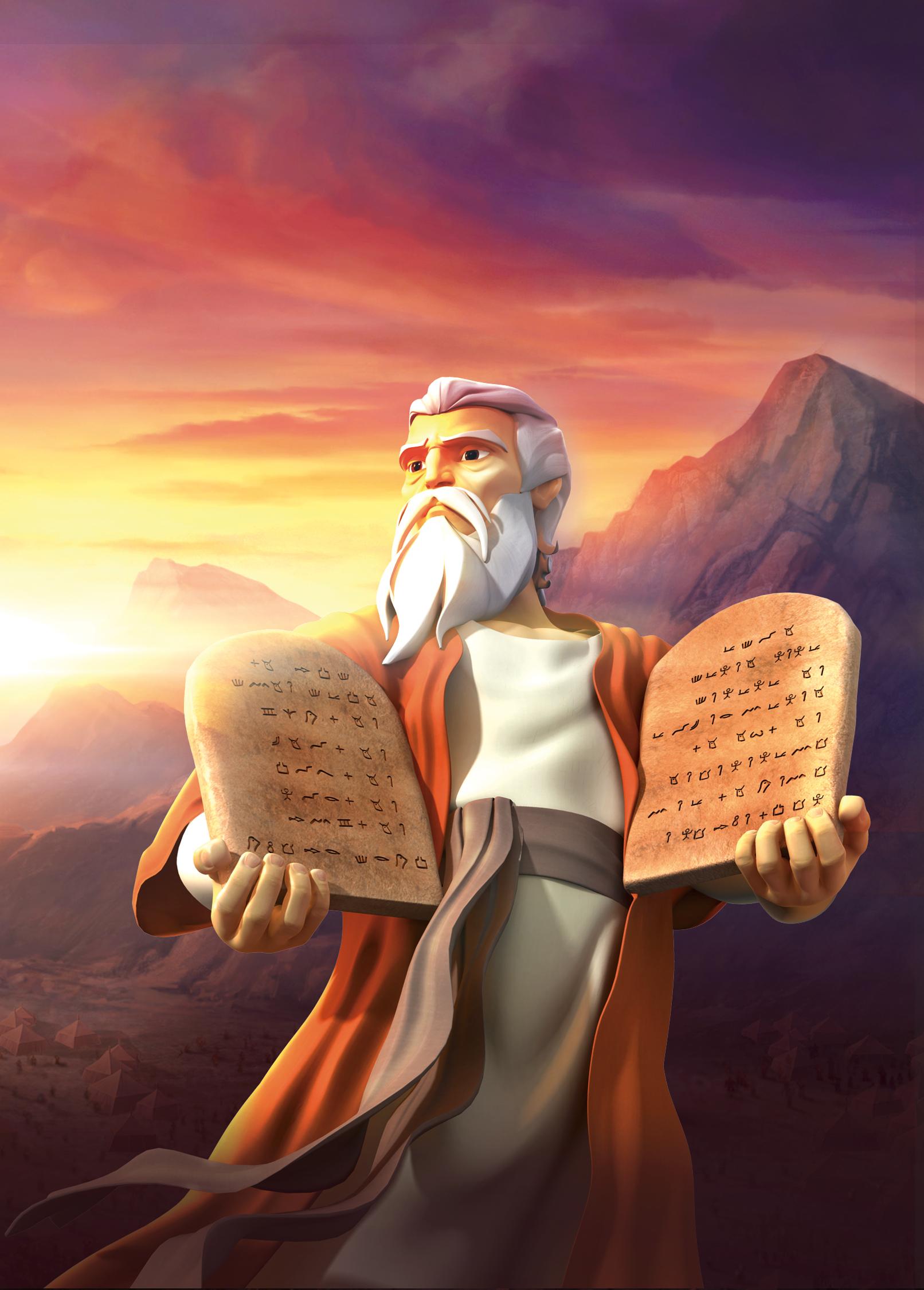 The Ten Commandments Superbook Academy