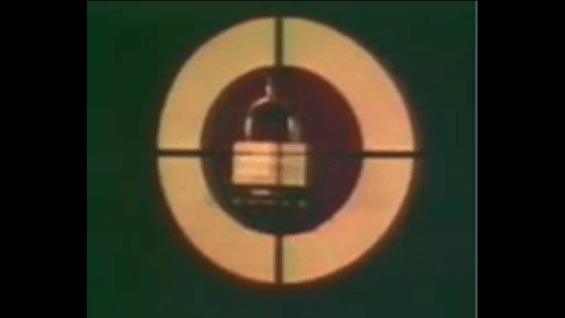 1975 MASTER LOCK – Shot With Rifle