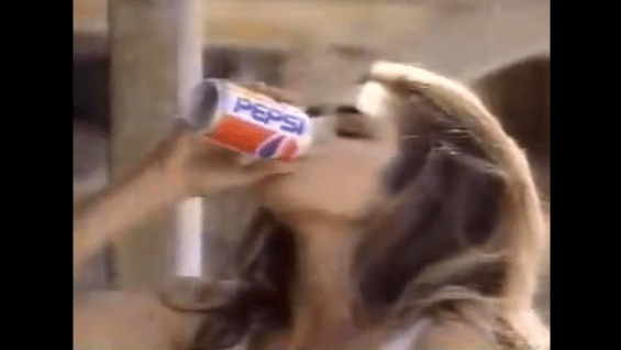 1992 PEPSI – Cindy Crawford