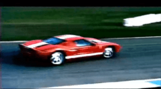 2004 Ford GT Super bowl Commercial