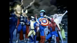 2005 Visa - Superheroes come to the rescue of a woman in need of help