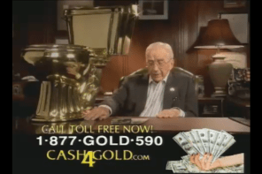 2009 Cash 4 Gold Super Bowl ad MC Hammer and Ed McMahon send in stuff for cash