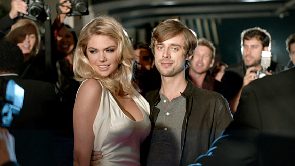 2013 Mercedes-Benz Super Bowl XLVII commercial with Kate Upton