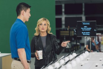 Best Buy super bowl XLVII commercial with Amy Poehler