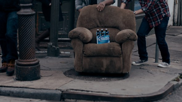 """2013 Bud Light Super Bowl Commercial """"Lucky Chair"""""""