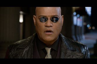 2014 Kia Super Bowl ad -An unsuspecting couple meets Morpheus at a valet stand. He presents them with two choices: a red key or a blue key. Should they choose wisely, they'll never look at luxury—or Kia—the same again.