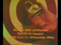 1975 MASTER LOCK – Shot With Rifle