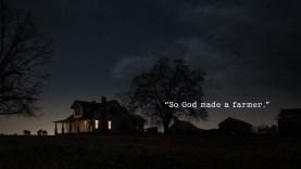 "[VIDEO] Dodge Ram Trucks 2013 Super Bowl XLVII Ad ""God Made a Farmer"""