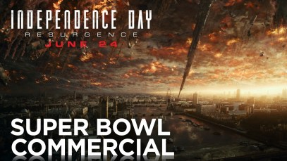 "20th Century FOX 2016 Super Bowl 50 Ad ""Independence Day: Resurgence"""
