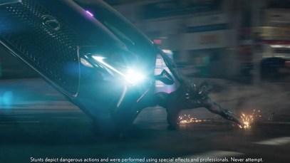 Lexus Super Bowl Spot for LS 500 Featuring Marvel's Black Panther