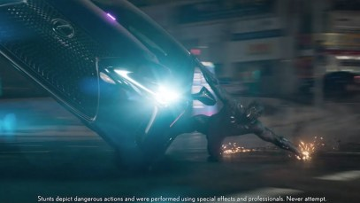 Lexus Super Bowl Spot for LS 500 Featuring Marvel's Black Panther