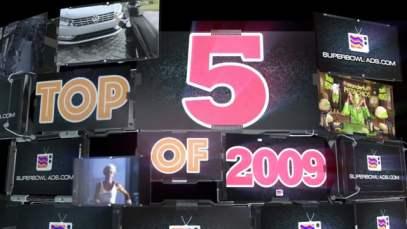 SuperBowl-Ads.com Top 5 Ads of 2009 (Super Bowl XLIII)