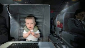 [HD] Exclusive E-Trade Baby First Class 2010 Super Bowl 44 XLIV Commercial Ad