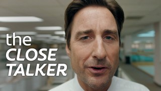 Luke Wilson in Colgate's 2019 Super Bowl LIII commercial