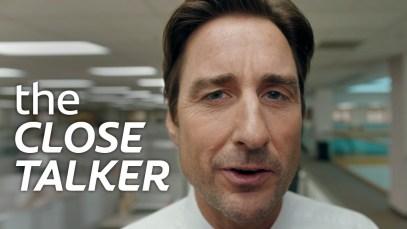 Luke Wilson in Colgate's 2019 Super Bowl LIII commercial
