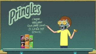 2020 PRINGLES – Rick and Morty Teaser