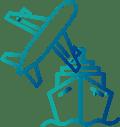 Servicio aéreo, marítimo y consolidación de paquetes