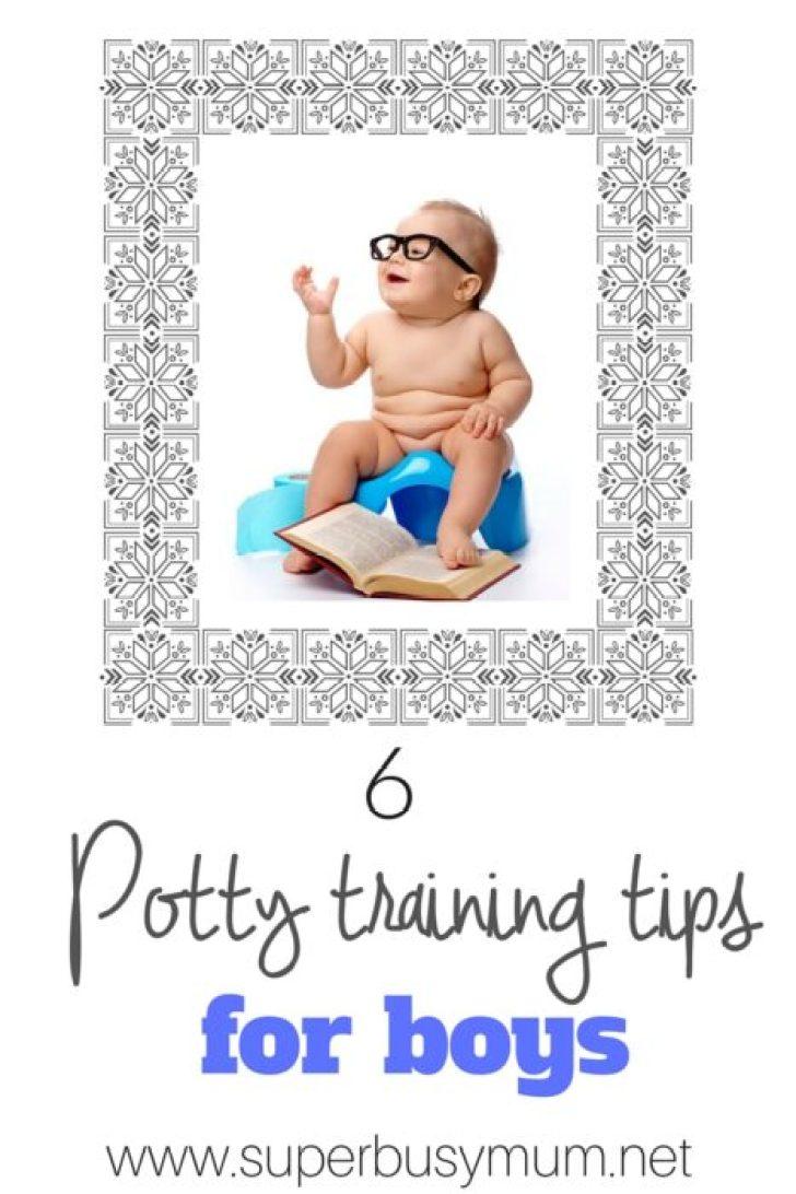 5 Potty Training tips for boys